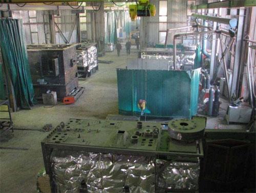 hall de fabrication biélorussie