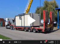 Chaufferie bois en container sur mesure