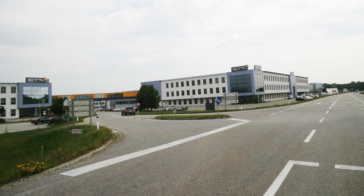 La plus grande usine d'Europe de chaudières à bois.