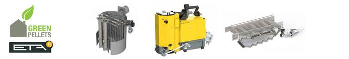 Chaudière à bois déchiqueté et pellets ETA «HACK VR» 333 à 500 kW