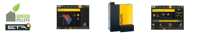 Chaudière pellets ETA «Pellets Compact» 20-105kW
