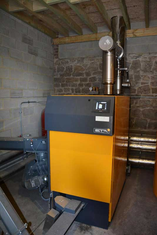 Chaudière ETA 130 kW