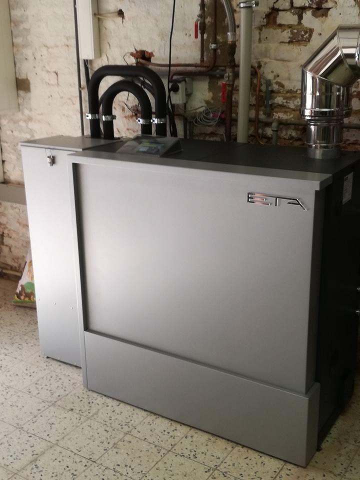 Installation chaudière ETA unit 15 kW Eghezée