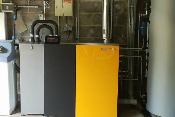 Installation chaudière ETA UNIT 15 kW Grez Doiceau