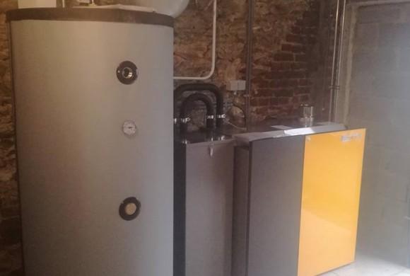 Installation chaudière pellets ETA 15 kW à Grez-Doiceau
