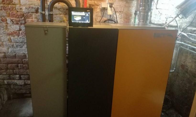 Installation chaudière pellets unit 15kW à Eghezée